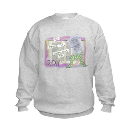 First Communion Kids Sweatshirt