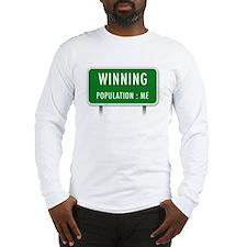 Winning Population : ME Long Sleeve T-Shirt