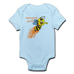 bee-gone punk Infant Bodysuit