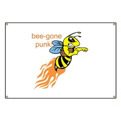 bee-gone punk Banner