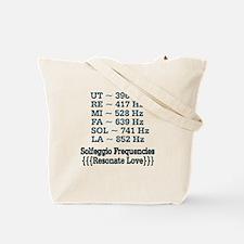 528 Love Solfeggio ~ Tote Bag
