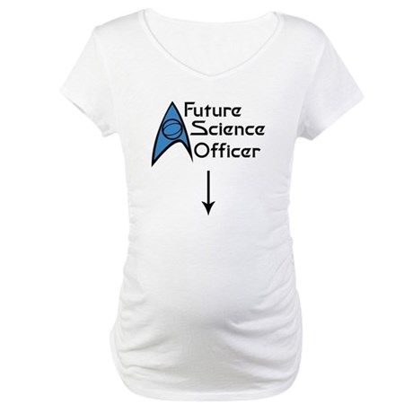 Future Science Officer Maternity T-Shirt