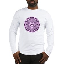 Long sleeve T-shirt with crop circle