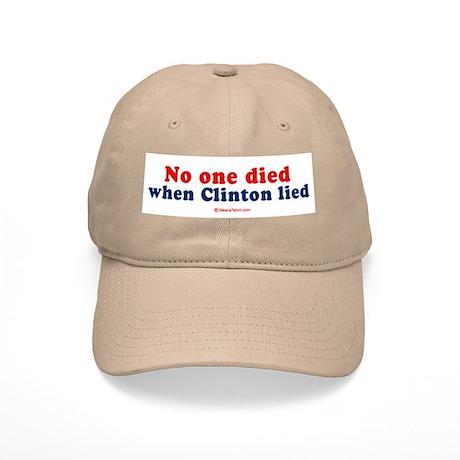 No one died when clinton lied - Cap