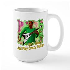 Just Play Crazy Guitar Mug