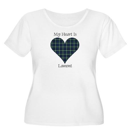 Heart - Lamont Women's Plus Size Scoop Neck T-Shir