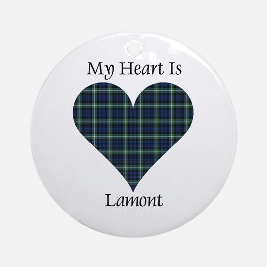 Heart - Lamont Ornament (Round)