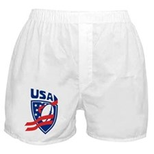 American USA Rugby Boxer Shorts
