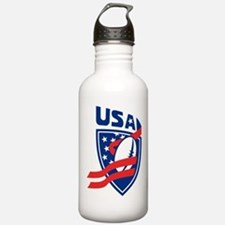American USA Rugby Water Bottle