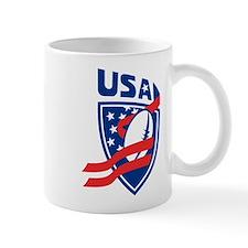 American USA Rugby Small Mug
