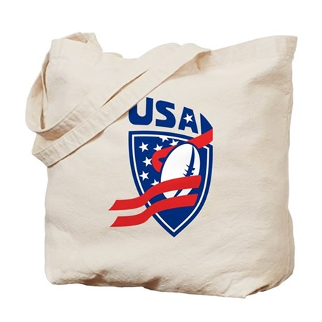 American USA Rugby Tote Bag
