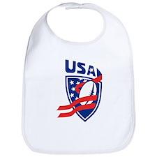 American USA Rugby Bib