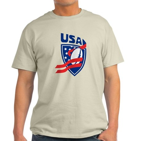 American USA Rugby Light T-Shirt