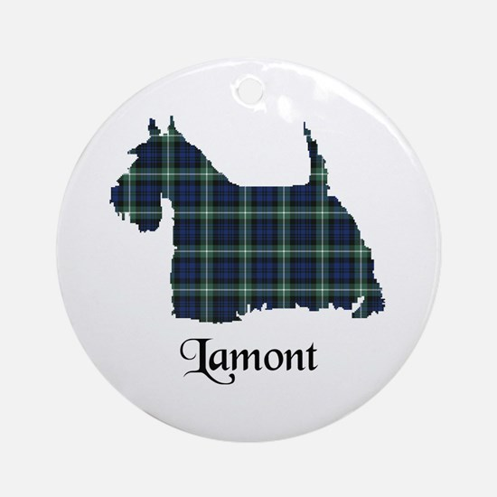 Terrier - Lamont Ornament (Round)