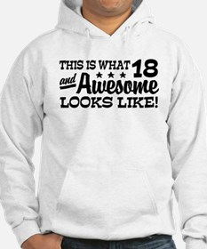 Funny 18th Birthday Hoodie
