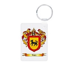 Lopez Coat of Arms Keychains