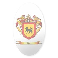 Lopez Coat of Arms Decal