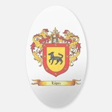 Lopez Coat of Arms Sticker (Oval)