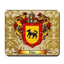 Lopez Coat of Arms Mousepad