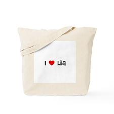 I * Lia Tote Bag