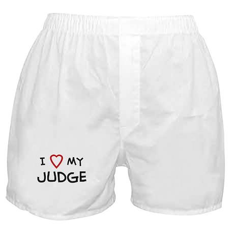 I Love Judge Boxer Shorts