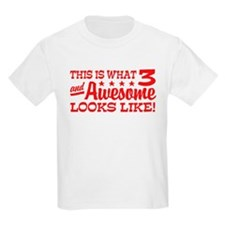 Funny Three Year Old T-Shirt
