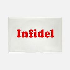 Infidel - Rectangle Magnet