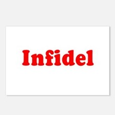 Infidel -  Postcards (Package of 8)