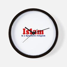 Islam is a dynamite religion -  Wall Clock
