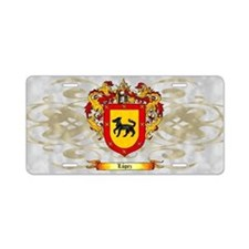 Lopez Coat of Arms Light Aluminum License Plate