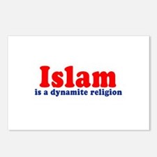 Islam is a dynamite religion -  Postcards (Package
