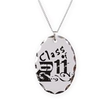 Class of 2011 Necklace Oval Charm