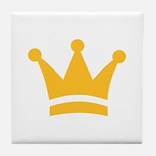 Golden crown Tile Coaster