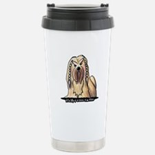 2006 Braided Lhasa Apso Travel Mug
