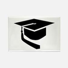 Graduation hat Rectangle Magnet (100 pack)