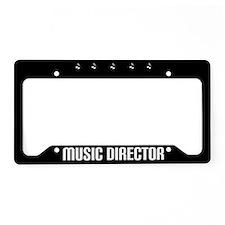Music Director License Plate Holder Gift