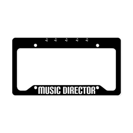 Music Director License Plate Holder Gift