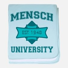 Mensch University - baby blanket