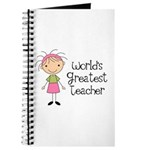 Worlds Greatest Teacher Journal