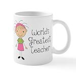 Worlds Greatest Teacher Mug