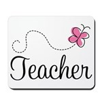 Cute Teacher Mousepad