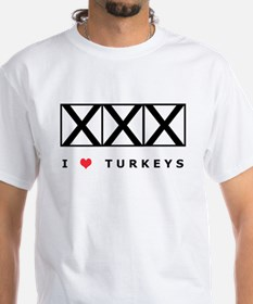 Bowling, I Love Turkeys Shirt
