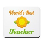 Worlds Best Teacher Mousepad