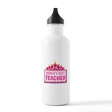 Worlds Best Teacher Sports Water Bottle