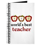 Worlds Best Teacher Journal