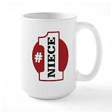 #1 Niece Mug