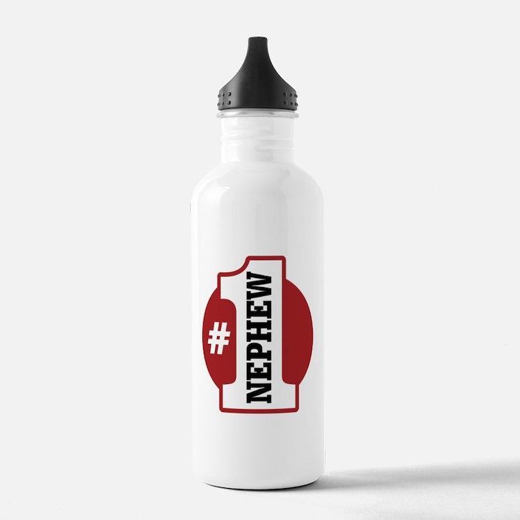 #1 Nephew Water Bottle