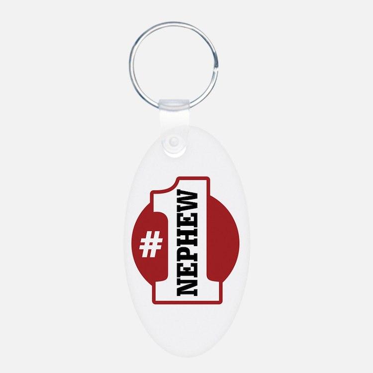 #1 Nephew Keychains