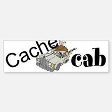 Cache Cab Bumper Bumper Sticker