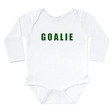 Goalie Long Sleeve Infant Bodysuit